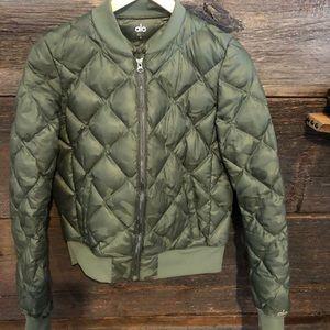 Camo Alo bomber jacket